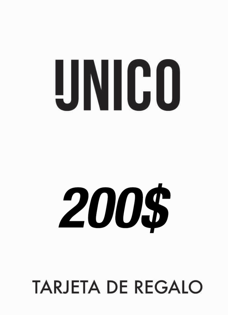 Unico Detox - Tarjeta de Regalo 200$