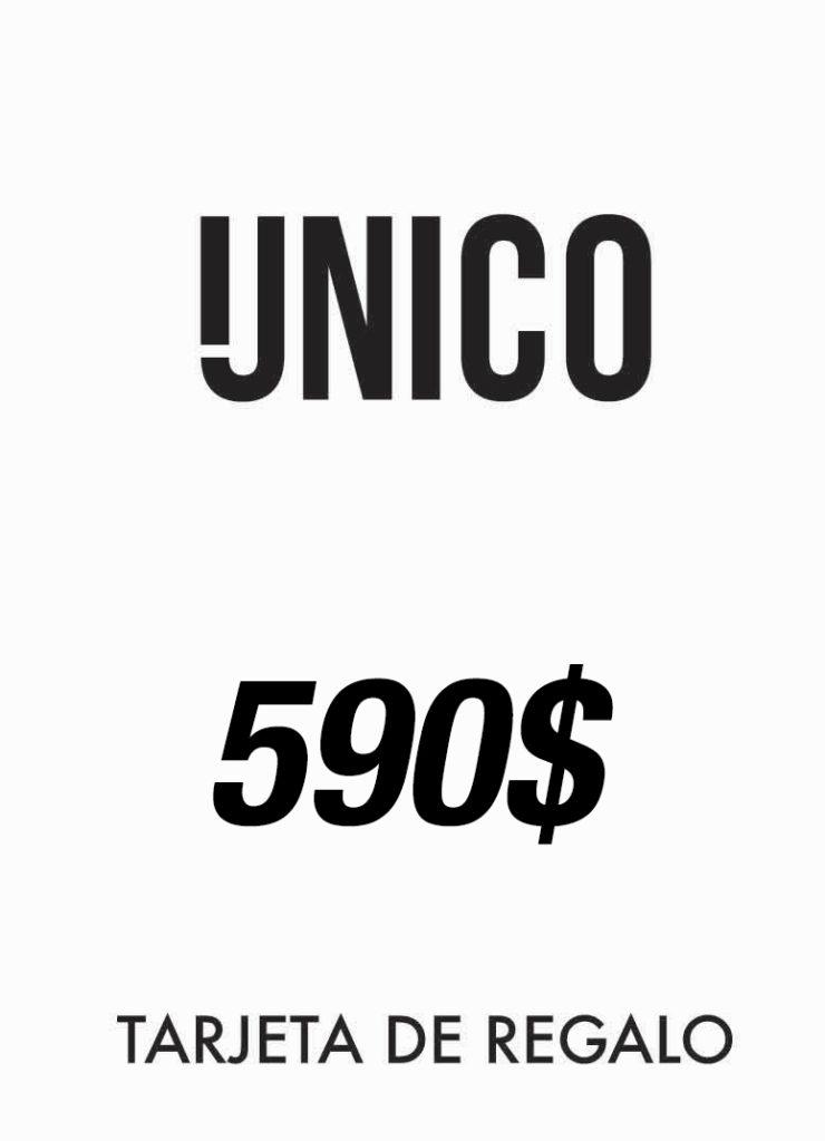 Unico Detox - Tarjeta de Regalo 590$