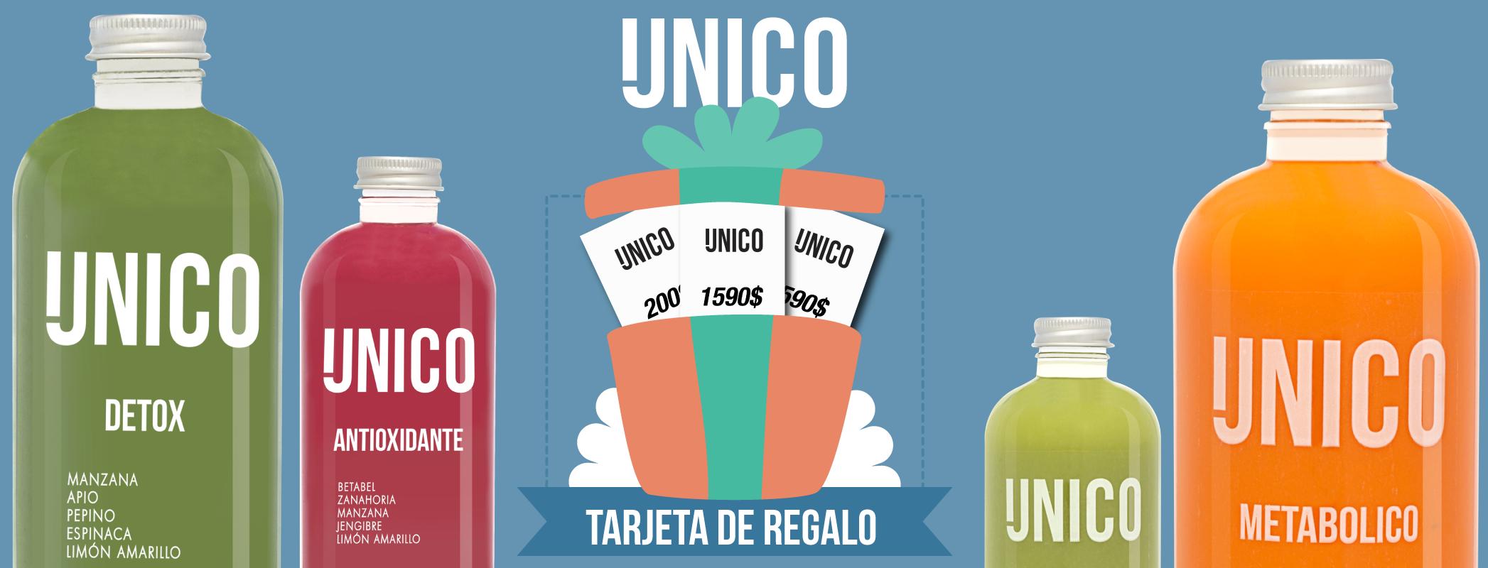Unico Detox - Tarjeta de Regalo